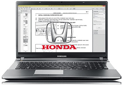 2000 Honda Inspire Workshop Repair Service Manual PDF Download