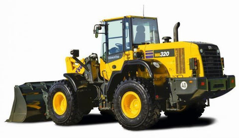 Komatsu WA320-7 Wheel Loader Workshop Service Manual