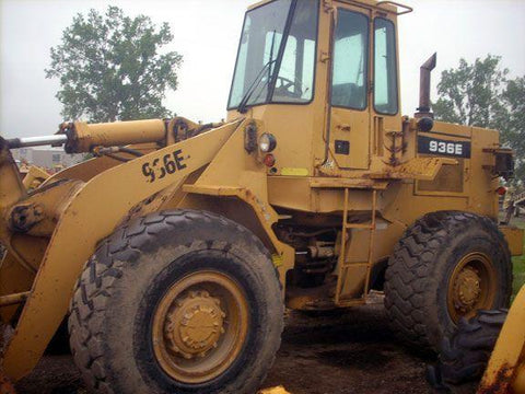 1989 Caterpillar Loader 936E Digital Transmission Service Repair Manual S/NO : 4SBO2567