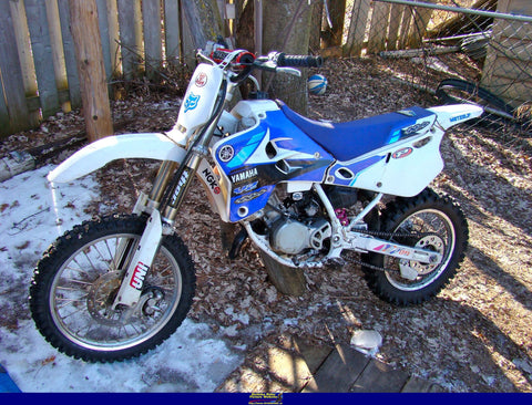 1993 Yamaha YZ 80 Dirtbike Workshop Service Repair Manual