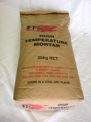High Temperature Mortar 25kg