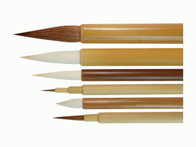 Brush Set Traditional 6 Piece