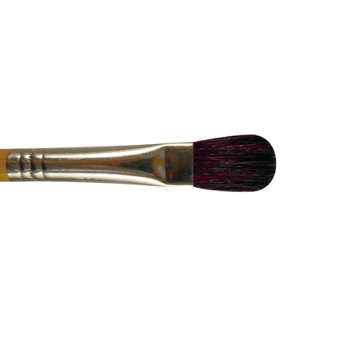 Brush Glaze Mop Oval 25mm