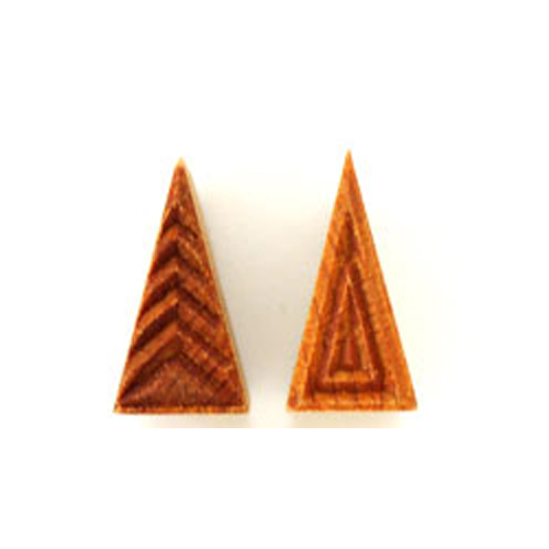 MKM Triangle Stamp 3cm x 1.5cm Geometric