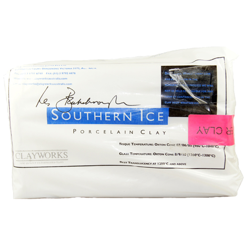 Clayworks Clay Southern Ice Paper 10kg