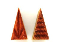 MKM Triangle Stamp 3cm x 1.5cm Horizontal
