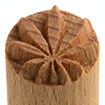 MKM Small Round Stamp 1.5cm Palm