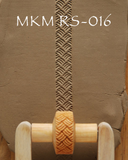 MKM Small Hand Roller 1.5cm Basket Weave