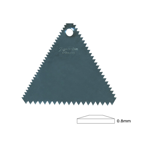 Rib  Triangle Serrated