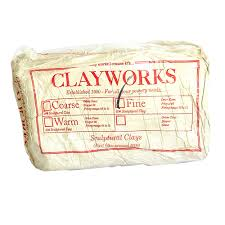 Clayworks Clay Sculptural Fine 10kg