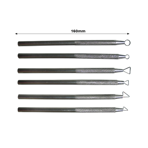 Tool Kit Steel Mini Ribbon 6 Piece