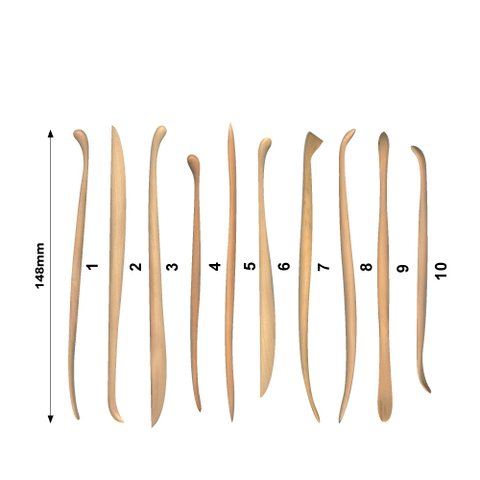 Refined Boxwood Modelling Tool Kit 10 pcs