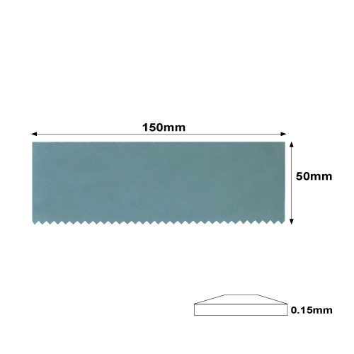 Rib  Steel Serrated Rectangle