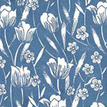 Tissue Transfer Mini Swaying Tulips - Blue