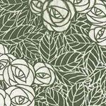 Tissue Transfer Mini Rose Leaf - Green