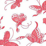 Tissue Transfer Mini Butterflies - Red
