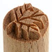 MKM Small Round Stamp 1.5cm Maple