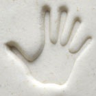 MKM Round Stamp 2.5cm Right Hand