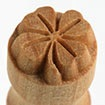 MKM Small Round Stamp 1.5cm Clover
