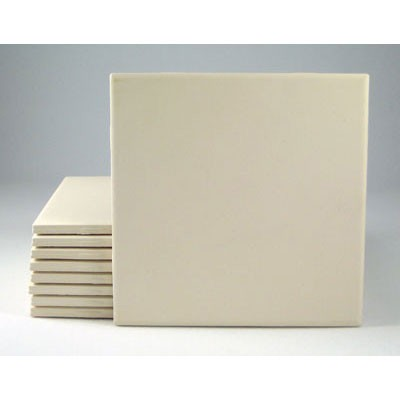 Bisque Tile Square 110mm