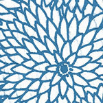 Tissue Transfer Dahlia - Blue