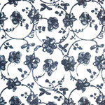 Tissue Transfer  Floral - Black