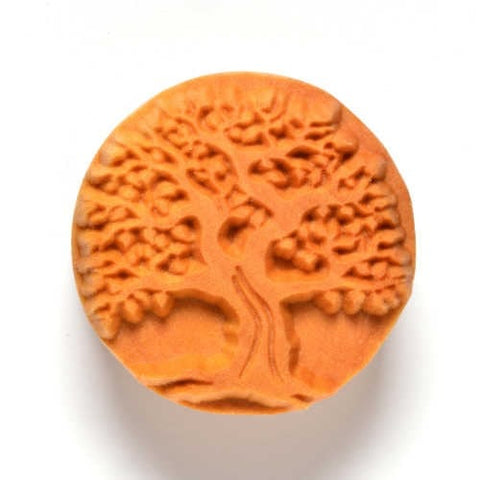 MKM Large Round Stamp 4cm Old Tree