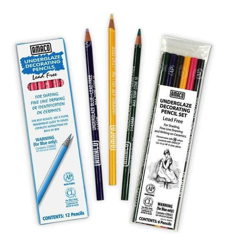Amaco Underglaze Pencil Set
