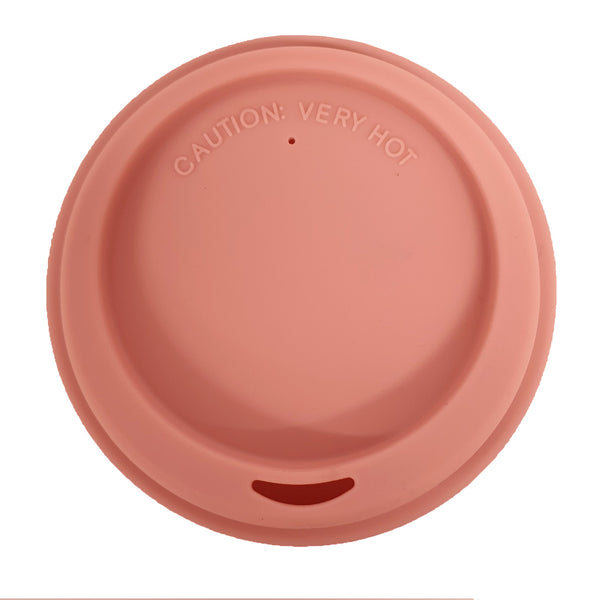 Silicone Lid 9cm - Dusty Pink