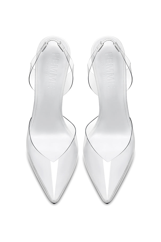 Macallan Slingback Pump - Lambo White