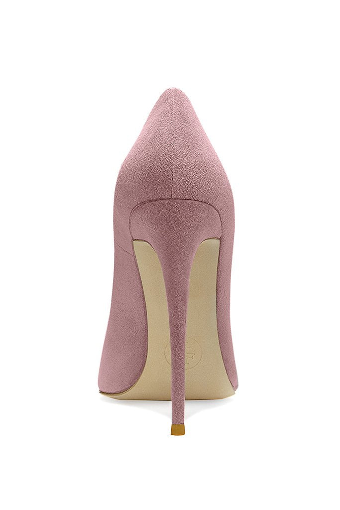 Gia Pumps - Blush Suede