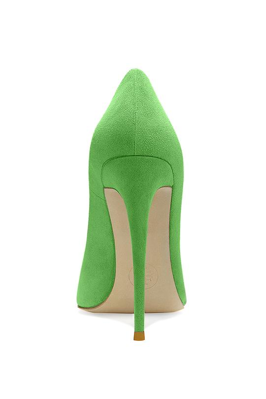 Gia Pumps - Suede Lime