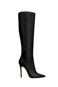 Miliano - Vegan Leather Boot -  Noir