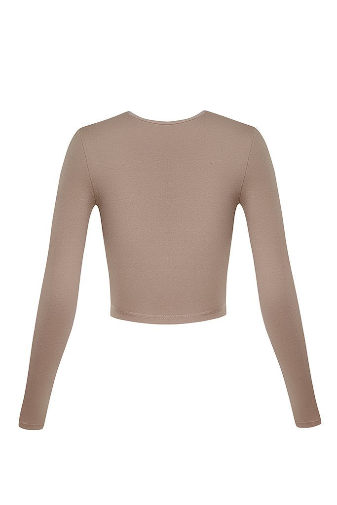Cur Basics Top High - Nude