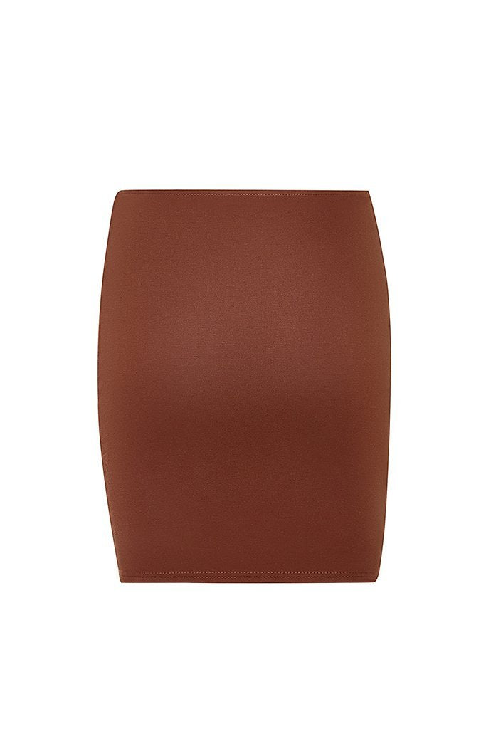 XIV Mini Skirt - Chocolate