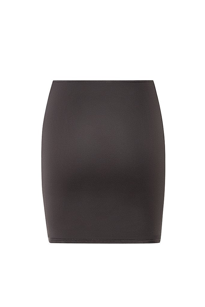 XIV Mini Skirt - Grey