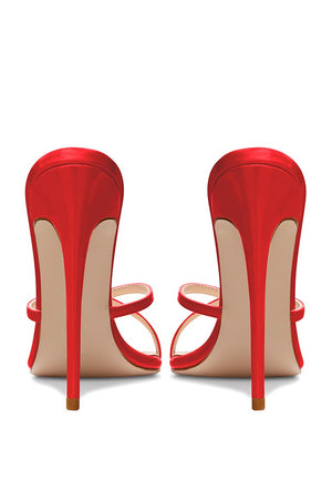 Donatella Mule - Red