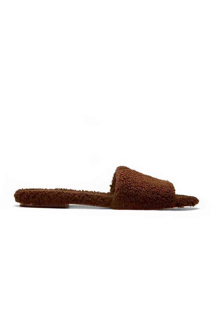 Château Slippers - Chocolate