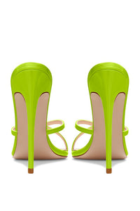 Donatella Mule - Lime