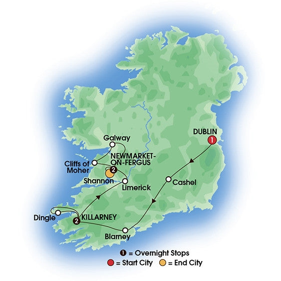 Best of Ireland (Tour C) - 6 Days