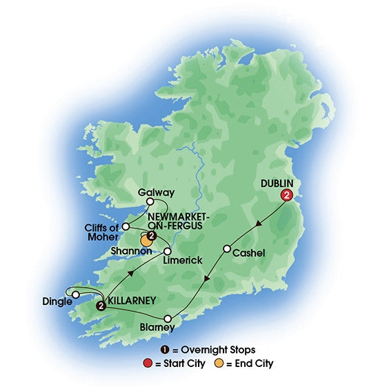 Best of Ireland (Tour A) - 7 Days