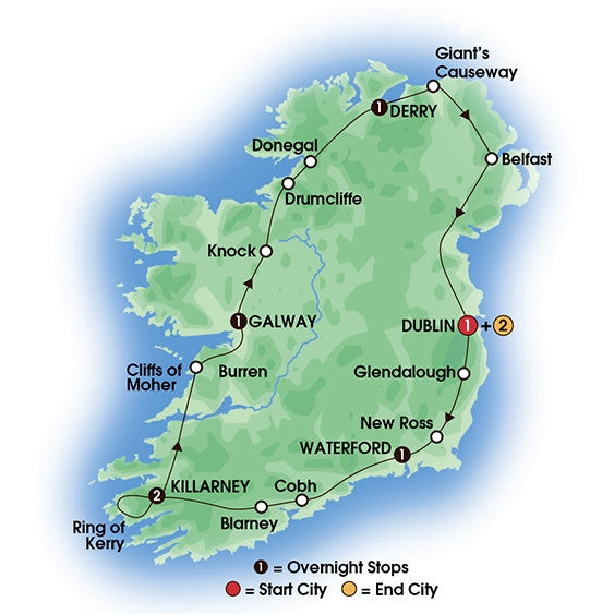 Irish Adventure - 9 Days