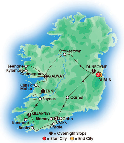 Elegant Ireland - 11 Days