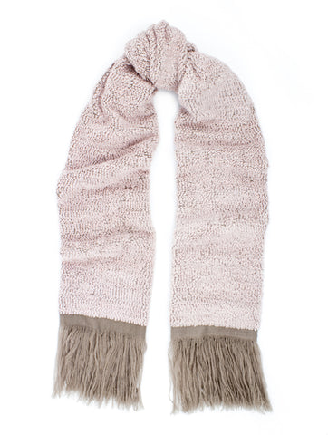 'SADA' POWDER PINK SCARF