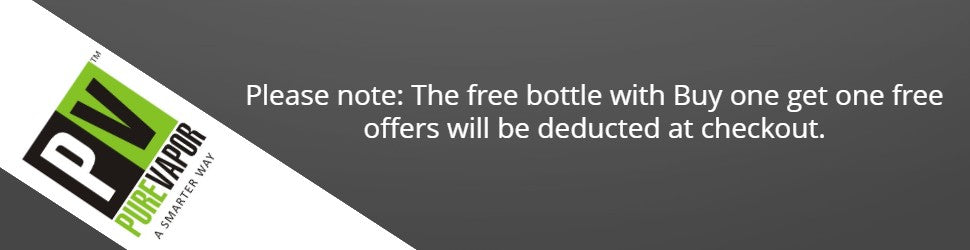 Buy one e-liquid and get a second free