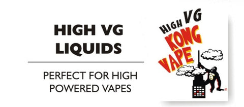 High VG vape juice NZ