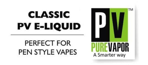 Nicotine e-liquid warning Pure Vapor NZ