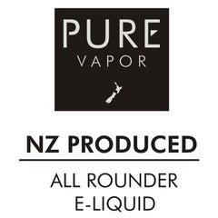 Pure Vapor NZ e-liquid