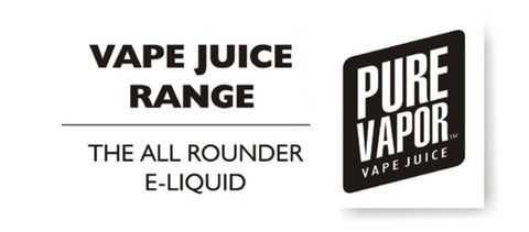 Vape juice e-liquid from Pure Vapor NZ