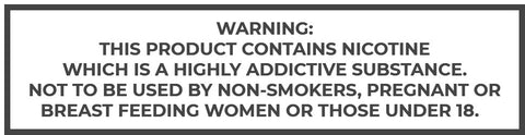 Nicotine e-liquid warning NZ